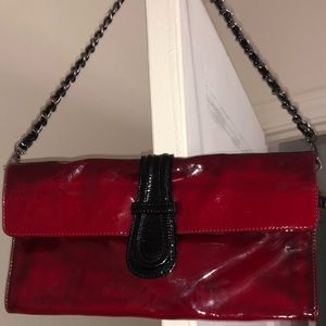 Handbags - Abro patent leather clutch